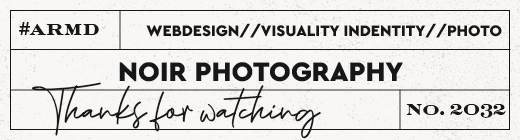"Produktlabel Webdesign ""Noir Photography"""